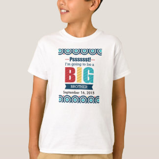 Big Brother/New Baby Announcement T-Shirt