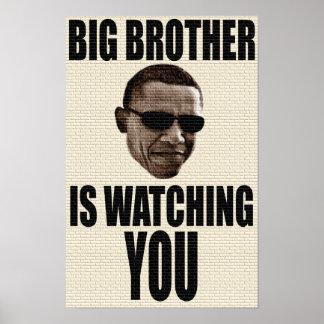 Big Brother Obama 1984 Poster