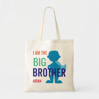 Big Brother Personalized Superhero Silhouette Boys