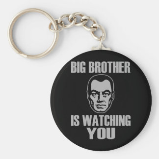 Big Brother Portrait Keychain