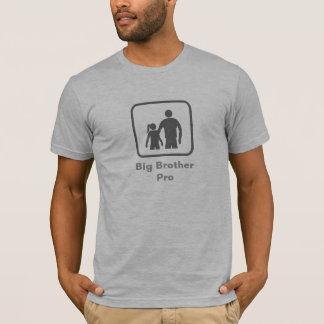 Big Brother Pro (with younger sister) (Grey Logo) T-Shirt