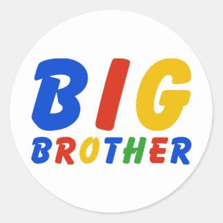 BIG BROTHER ROUND STICKER