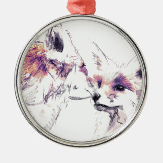 Big Brother Silver-Colored Round Ornament