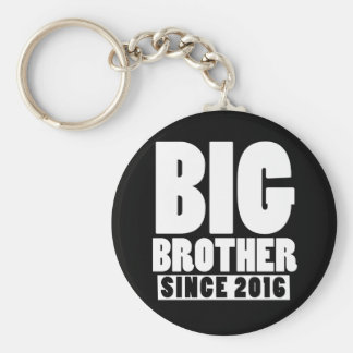 Big brother since 2016 keychain