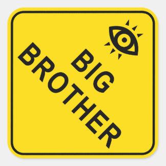 Big Brother Square Sticker