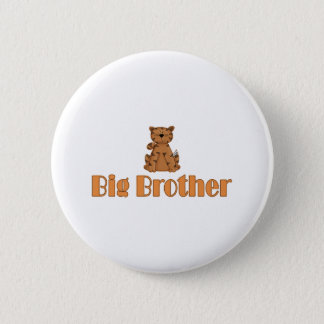 Big Brother Tiger 2 Inch Round Button