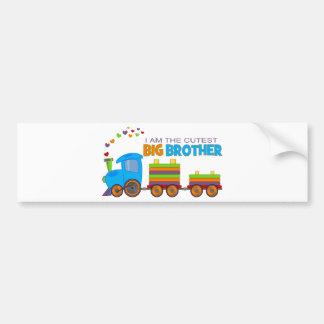 Big Brother -Train Bumper Sticker