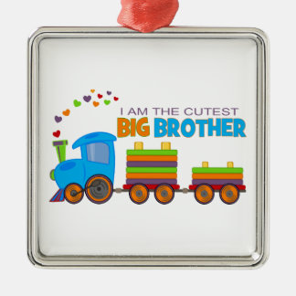 Big Brother -Train Metal Ornament