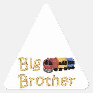 Big Brother Train Triangle Stickers