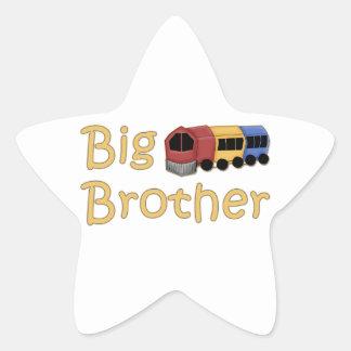 Big Brother Train Star Stickers