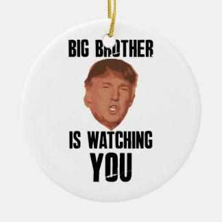 Big Brother Trump Ceramic Ornament