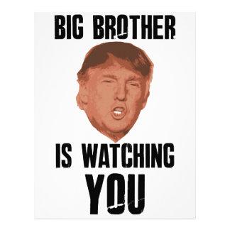 Big Brother Trump Letterhead