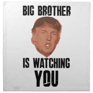 Big Brother Trump Napkin