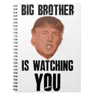 Big Brother Trump Note Book