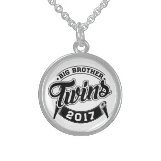 Big Brother Twins 2017 Sterling Silver Necklace