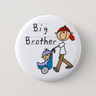 Big Brother With Little Brother 2 Inch Round Button