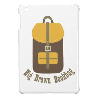 Big Brown Bookbag Case For The iPad Mini