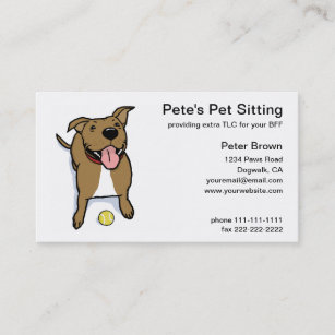 pet sitting business cards profile cards zazzle ca