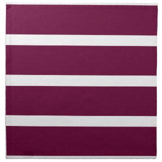 Big Brown Stripe Napkin