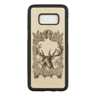 Big Buck Carved Samsung Galaxy S8 Case