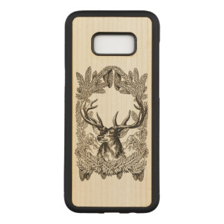 Big Buck Carved Samsung Galaxy S8+ Case