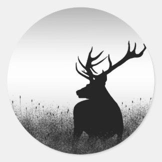 Big Buck Classic Round Sticker