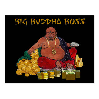 Big Buddha Boss Postcard