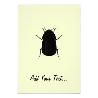 """Big Bug 3.5"""" X 5"""" Invitation Card"""