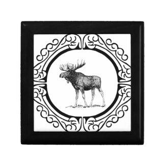 big bull moose art gift box