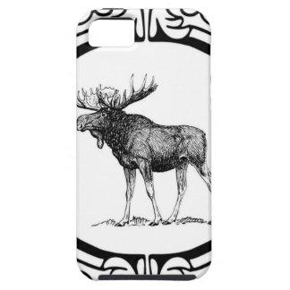 big bull moose art iPhone 5 case