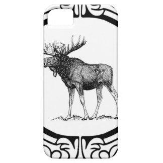 big bull moose art iPhone 5 covers