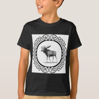 big bull moose art T-Shirt