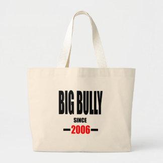 BIG BULLY school since 2000 back learn homework re Large Tote Bag