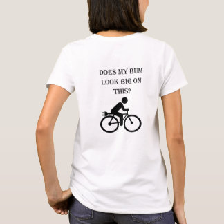 """Big bum"" cycling tees for women"