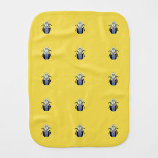 Big Bumble Bee Burp Cloth