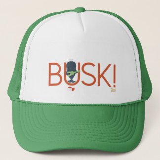 Big Busk Whale cap. Trucker Hat
