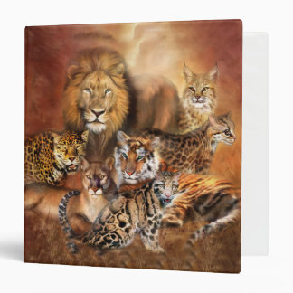Big Cat Art Binder