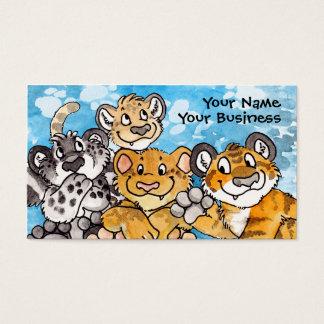 Big Cat Cubs Business Card