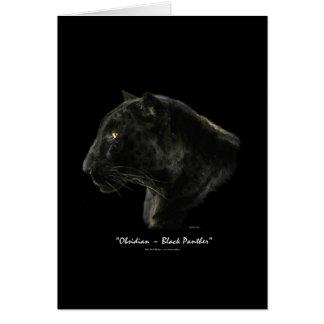 BIG CAT Endangered Species Series Greeting Card
