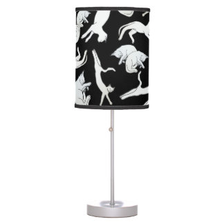 Big Cat Nap Table Lamp (Black)