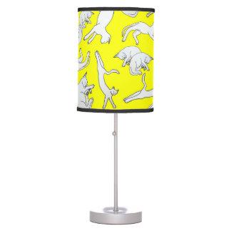 Big Cat Nap Table Lamp (Yellow)