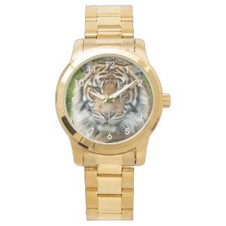 Big Cat Tiger Photo Wristwatch