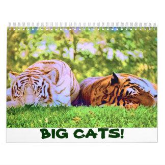 BIG CATS! 2018 Calendar