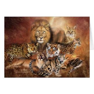 Big Cats ArtCard Card