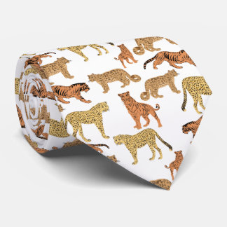 Big Cats Tie