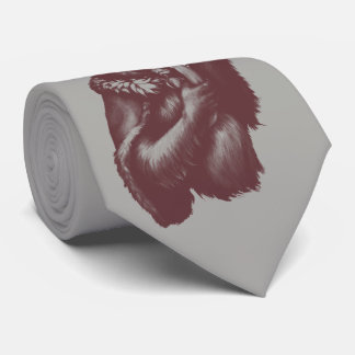 Big Chimpin' (Monochrome) Tie