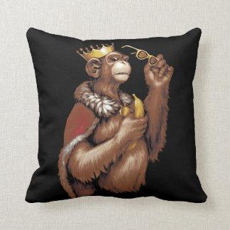 Big Chimpin' Throw Pillow