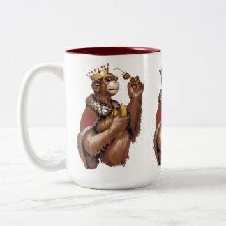 Big Chimpin' Two-Tone Coffee Mug