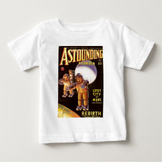 Big Chunky Spacesuits Baby T-Shirt