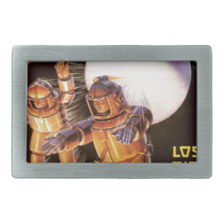 Big Chunky Spacesuits Belt Buckle